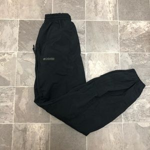 Men's vintage Columbia windbreaker hiking pants